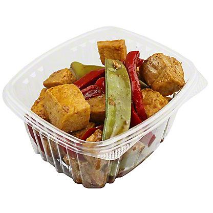 CENTRAL MARKET Tofu with Snow Peas,LB