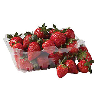 Fresh Organic Strawberries, 1 lb