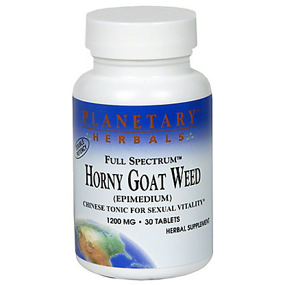 Planetary Herbals Full Spectrum Planetary Spectrum Horny Goat Weed, 30.00 ea