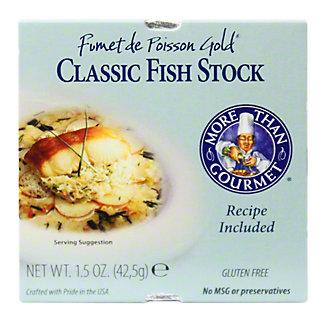 More Than Gourmet Fumet De Poisson Gold Classic Fish Stock,1.5 OZ