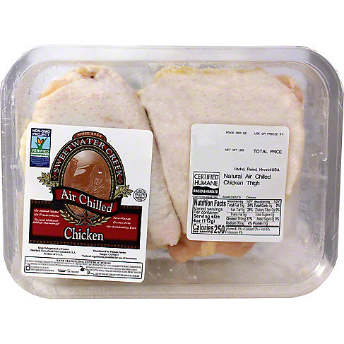 Central Market Chicken Thigh Grade A