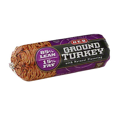 H-E-B Ground Turkey 85% Lean,16 OZ