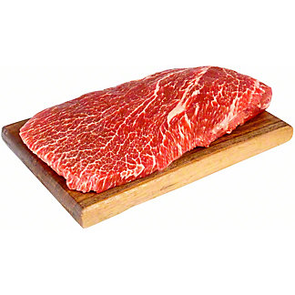 Fresh Market Choice Top Blade Flat Iron Steak Trimmed