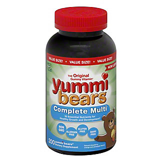 'Yummi Bears' Multi Vitamin,200 CT
