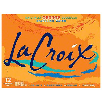 LaCroix Orange Sparkling Water,12 PK - 12 OZ