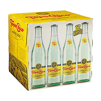 Topo Chico Mineral Water Case 12 PK, 12 oz
