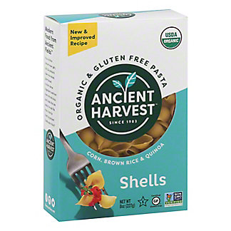 Ancient Harvest Quinoa Organic Gluten Free Super Grain Shells Pasta, 8 OZ