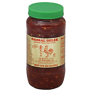 Huy Fong Sambal Oelek Chili Paste, 18 oz
