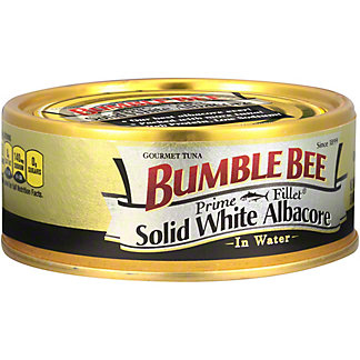 Bumble Bee Prime Fillet Solid White Albacore Tuna In Water, 5 oz