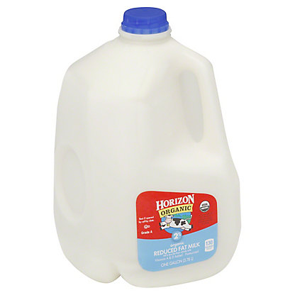 Horizon Organic Reduced Fat 2% Milk, 1 gal