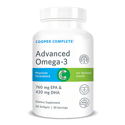 Cooper Complete Advanced Omega-3 Softgels,60 CT