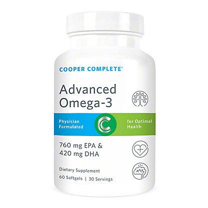 Cooper Complete Advanced Omega-3 Softgels,60 CT