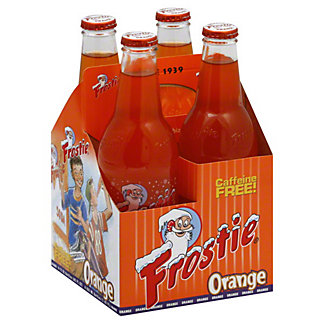 Frostie Orange Soda,4/12OZ