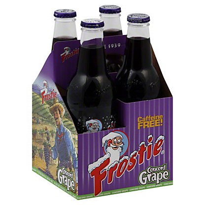 Frostie Frostie Concord Grape Soda, 4 ea