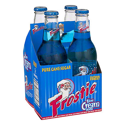 Frostie Blue Cream Soda,4/12OZ