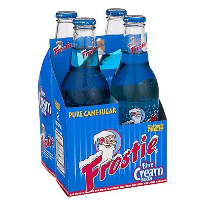 Frostie Blue Cream Soda,4/12OZ