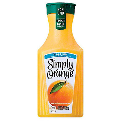 Simply Orange Simply Orange Calcium & Vitamin D Pulp Free Orange Juice,59 oz
