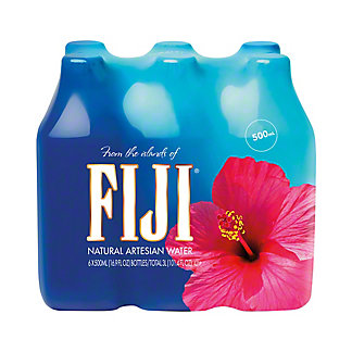 Fiji Natural Artesian Water, 6 pk - .5 L