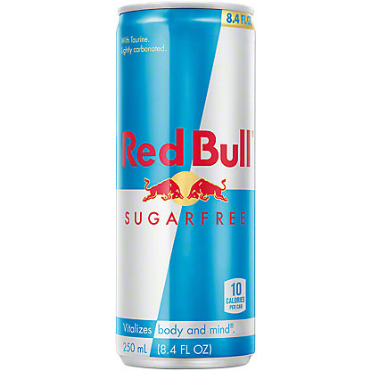 Red Bull Sugar Free Energy Drink,8.4 OZ
