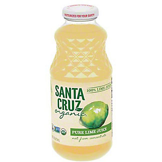 Santa Cruz Organic Lime Juice,16.00 oz