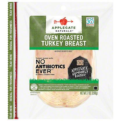 Applegate Naturals Roasted Turkey Breasts,7 OZ
