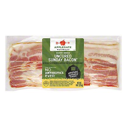 Applegate Naturals Sunday Uncured Bacon, 8 oz