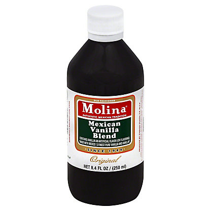 Molina Vanilla Original Vanillin Extract,8.4 OZ.