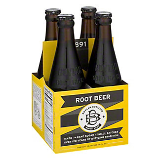 Boylan Bottleworks Root Beer Soda 4 PK Bottles,12 OZ