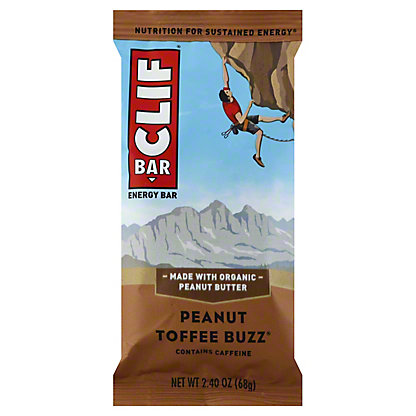 Clif Peanut Toffee Buzz Energy Bar,2.4 OZ