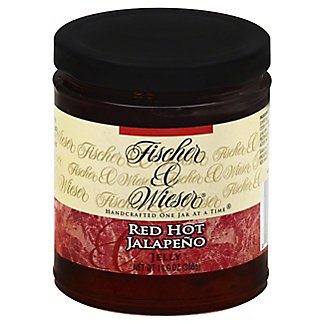 Fischer & Wieser Red Hot Jalapeno Jelly,10.9 OZ