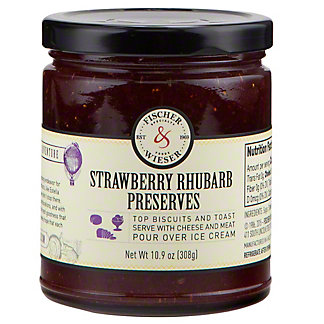 Fischer & Wieser Strawberry Rhubarb Preserves,10.9 OZ