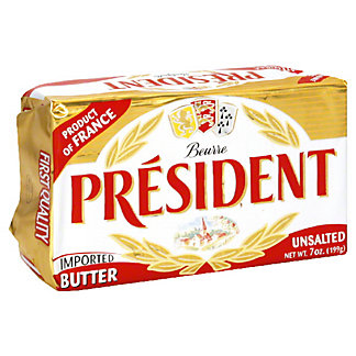 President Unsalted Butter,7 OZ