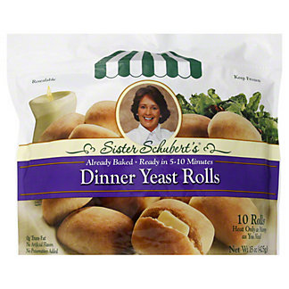 Sister Schuberts Dinner Yeast Rolls,10 ct.