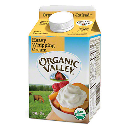 Organic Valley Heavy Whipping Cream, 16 OZ