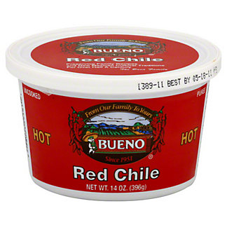 Bueno Hot Red Chile,14 OZ