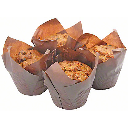 Central Market Sugar Free Apple Walnut Muffin 4 Count,4 PACK