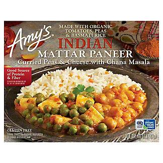 Amy's Indian Mattar Paneer, 10 oz