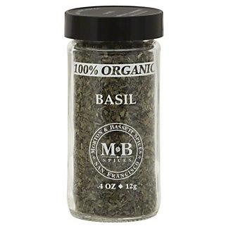 Morton & Bassett 100% Organic Basil,.4 OZ