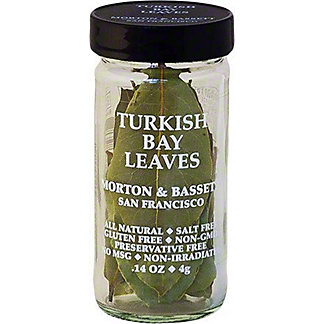 Morton & Bassett Turkish Bay Leaves, 0.14 oz