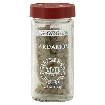 Morton & Bassett Morton & Bassett Organic Cardamon,0.90 oz