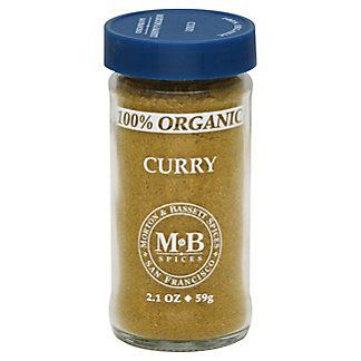 Morton & Bassett 100% Organic Curry Powder,2.10 oz