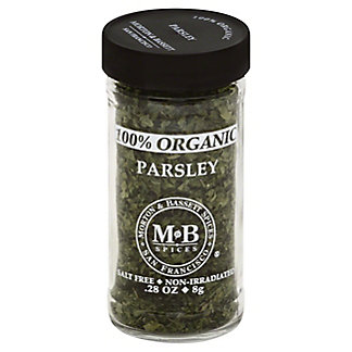 Morton & Bassett 100% Organic Parsley,0.28 OZ