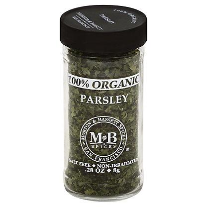Morton & Bassett 100% Organic Parsley,0.28 OZ