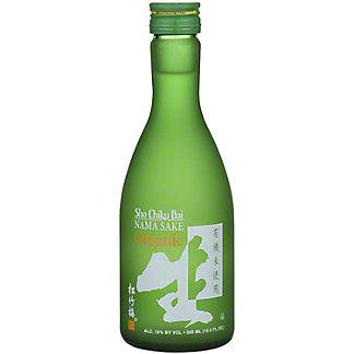 Sho Chiku Bai Organic Nama Junmai Sake, 300 mL