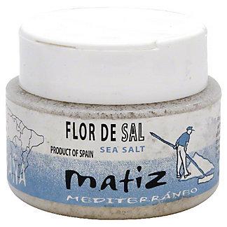 Matiz Mediterraneo Flor De Sal Mediterranean Sea, 4.40 oz
