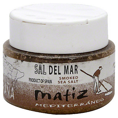 Matiz Mediterraneo Sal Del Mar Smoked Sea Salt, 4.40 oz