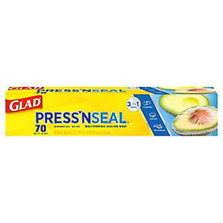 Glad Press'n Seal Multipurpose 70 Sq Ft Sealing Wrap,EACH