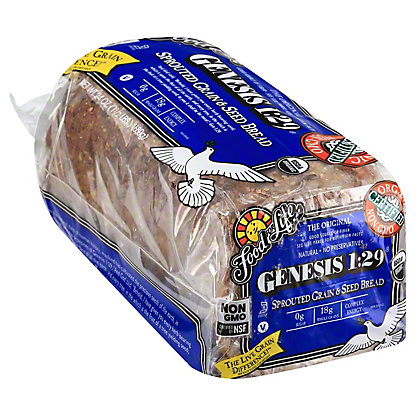 Food For Life Genesis 1:29 Sprouted Grain and Seed Loaf Bread,24 OZ