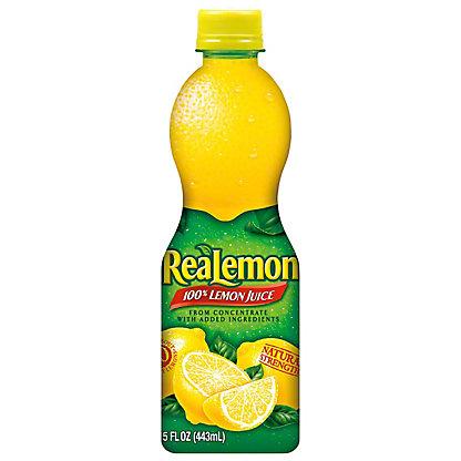 ReaLemon 100% Lemon Juice, 15 oz