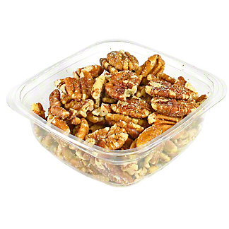 Bulk Roasted and Salted Pecan Halves, sold by the pound